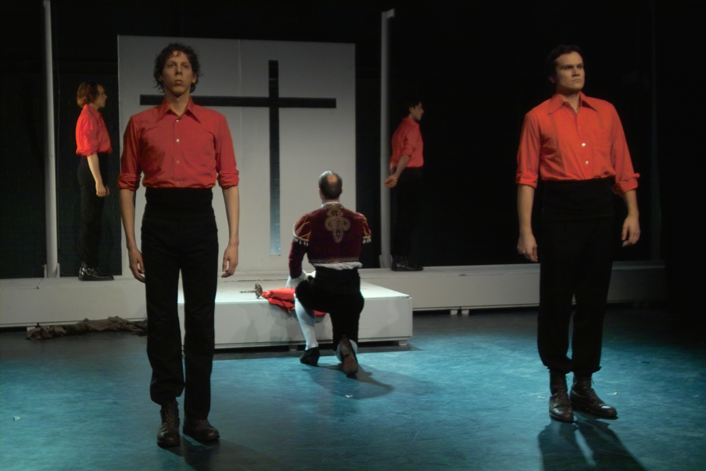 Escamillo in kerk + jongens